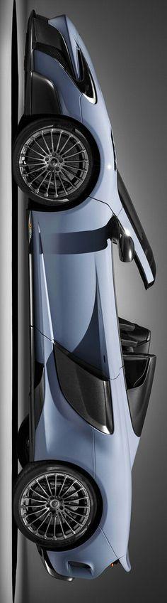 Luxury Cars : Illustration Description 2016 McLaren MSO Spider by Levon New Sports Cars, Super Sport Cars, Fancy Cars, Cute Cars, Mclaren Sports Car, Mclaren P1, Porsche 918 Spyder, New Luxury Cars, Porsche Carrera Gt