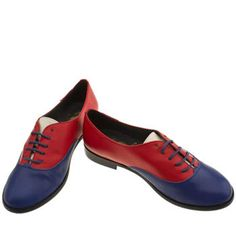 Womens Red Or Dead Troop Flats