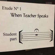Perfect for a music classroom poster... of coarse none my my little ones would get it