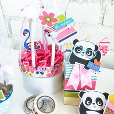Bella Blvd | Popsicles & Pandas Collection | Party Supplies by Jamie Pate