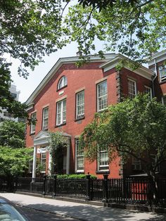 Friends (a/k/a/ Quakers) Meeting House, Stuyvesant Square, downtown NYC