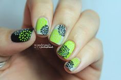 31 Day Nail Art Challenge - Day 4: Green Nails
