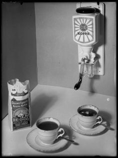 reclame douwe egberts koffie
