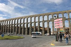 First glance at the #AqueductofSegovia