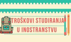 Troškovi studiranja u inostranstvu INFOGRAFIK
