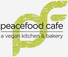 Peacefood Cafe in NYC...second location:  vegan food & pastries, raw options, fresh juices and smoothies.  As if the swanky original location on the Upper West Side of Manhattan—with its eye-catching desserts and décor—wasn't enough, Peacefood Cafe opened a second location in downtown Manhattan with more space and more sweets. While the healthy entrées are divine, it's the new location's custom cakes and vegan take on the much talked about NYC Cronut that has us lined up outside.