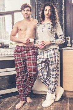 MENS ADULTS WOVEN COTTON SOFT COMFORTABLE LOUNGE 2 POCKET CHECK PANTS NIGHTWEAR #nightwear #loungewear #menswear