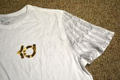 Mens NIKE Shirt- Size 3XL White/Gold KD AUNT PEARL WINGS Kay Yow 717885-100  #NIKE #GraphicTee