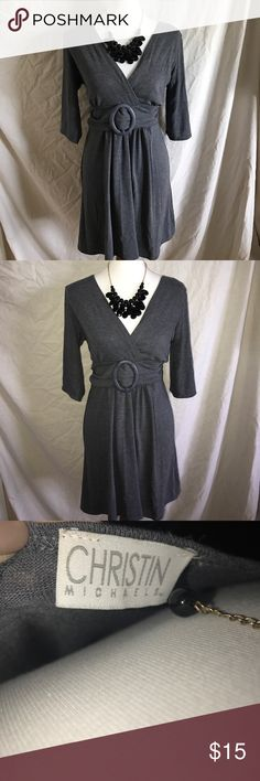 Light weight Gray dress sz 1X by Christin Michael New Light weight Gray dress sz 1X by Christin Michael Christin Michael  Dresses
