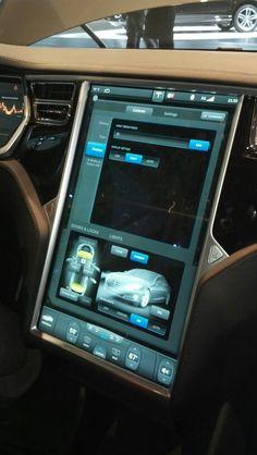 Tesla Model S Dash Screen - Awesome!!
