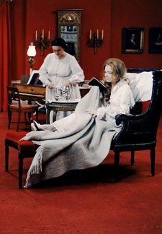 Liv Ullmann in Cries and Whispers (dir. Ingmar Bergman)