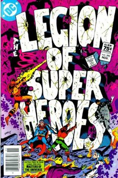 Classic covers: The Legion of Super-Heroes # 293