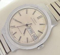 British Timex Automatic Men's vintage watch
