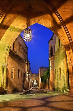 John's loggia in Medieval Town Knights Hospitaller, Beautiful Places To Live, Photo Boards, Greece Islands, Going On A Trip, Greece Travel, Travel Europe, Medieval Town, World Heritage Sites