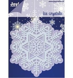 Joy!Crafts Cutting & Embossing Ice Crystals (6002/2053)