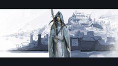 Juno concept art from the video game The Banner Saga by Arnie Jorgensen