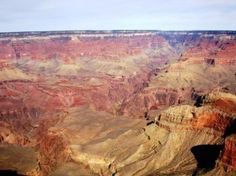 Size of the Grand Canyon  The Grand Canyon truly reflects an inconceivable beauty and majesty. Not only does it have an amazing size but it is also one