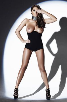 Lucy Pinder Sexy Lingerie Model