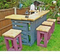 Superbe bar pour le jardin... ...
