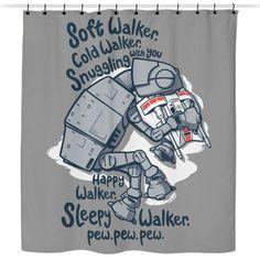 Soft Walker - Shower Curtain