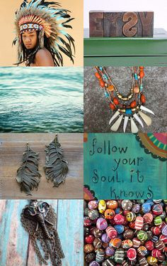 Follow your soul by Monika Schulcz on Etsy--Pinned with TreasuryPin.com