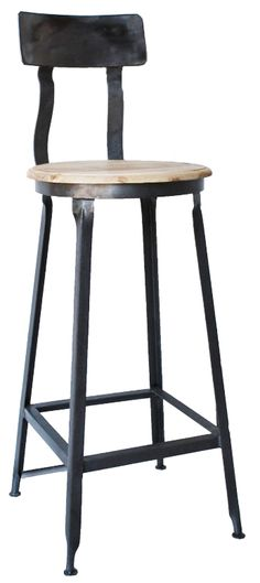 barstool option, 115  Looks like h.s. art / industrial arts class stool