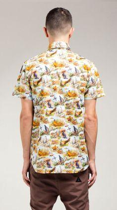 darknatureclothing:    I Love Ugly 'Game Bird' Shirt.