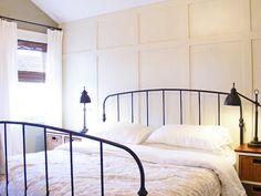 Board and Batten DIY Possibilities, bedroom