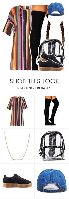 """Pipe it up"" by kiaratee ❤ liked on Polyvore featuring Marco de Vincenzo, David Yurman and Puma"