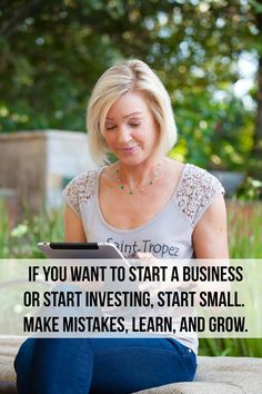 Se vuoi iniziare un business, parti in piccolo, fai tanti errori, impara e cresci.