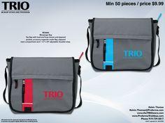 #TRIO messenger bag idea
