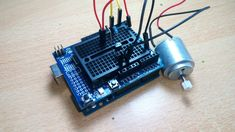 How to Drive a DC Motor With Transistor - Arduino Tutorial: 4 Steps Arduino Projects, Electronics Projects, Arduino Programming, Arduino Board, Drive A, Technology World, Electric Vehicle, Raspberry, Circuits