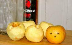 diy apple infused spiced rum. NOW we're talking.