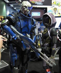 Garrus and Tali, Mass Effect 2