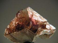 Axinite-(Fe) - East slope, Le Catogne, Sembrancher, Bagnes Valley, Wallis, Switzerland Size: 3.4 cm
