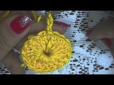CROCHÊ 7 - Como fazer crochê circular (INICIANTES)
