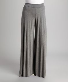 Look at this #zulilyfind! Charcoal Palazzo Pants - Plus #zulilyfinds