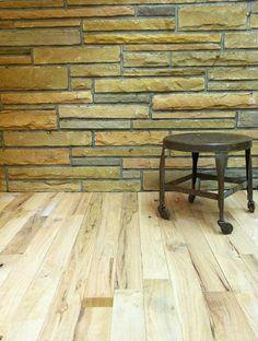 rustic grade Red Oak unfinished wood flooring 3¼ inch wide