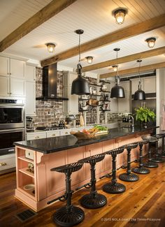 """This spring has been full of cinematic surprises for Helen and Scott Jenkins. """"I've had a lot of 'Pinch me, please' moments,"""" said Helen, standing in her new designer-renovated kitchen filled with cutting-edge appliances — a gift from House Beautiful..."""