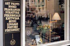 Monocle store, George street, london