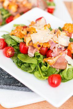 Late Summer Salad: Chanterelles