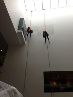 Ashmolean Museum @Ashmolean Museum Good with heights? Our abseiling Atrium painters can only work when the Museum is closed. #MuseumWeek #DayInTheLife