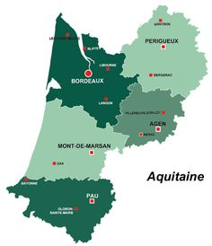 Aquitaine region of France, all the information you need