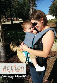 Action Baby Carriers #Giveaway.  Baby and Toddler wearing has never been more comfortable! #newyearnewbaby