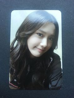 SNSD YOONA MR TAXI Official Photo Card 3rd Album Girl's Generation Photocard