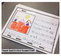 TGIF! - Thank God It's First Grade!: Writing Activities for Kindergarten and First Grade - Write from the Start!