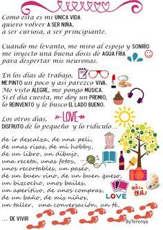 By Terenya, Con mis Ojos y mis Manos: Blogersando: Propósitos