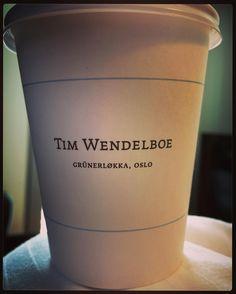 #timwendelboe#takeawaycoffee #oslo #grünerløkka by olskri