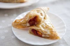 Recipe: Spiced Peach Turnovers — But First, Breakfast! | The Kitchn.  could swap in berries or other stone fruits if you'd prefer, or even apples or pears
