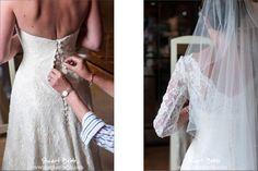 Wedding Dress The Dairy Waddesdon Manor  Wedding